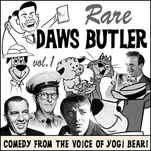 Rare Daws Butler audiobook cover art