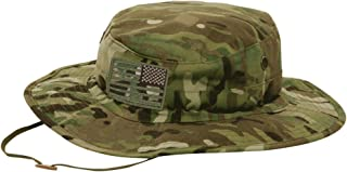 Gadsden and Culpeper Multicam Tactical Patch & Boonie Bundle (2 Patches + Hat)