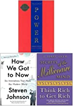 The 48 Laws Of Power, How We Got to Now Six Innovations That Made the Modern World, Secrets of the Millionaire Mind Think ...