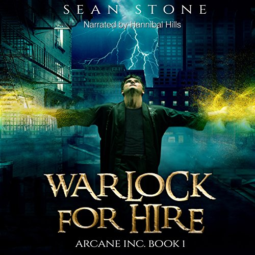 Warlock for Hire audiobook cover art