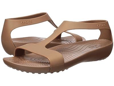 Crocs Serena Sandal (Bronze) Women