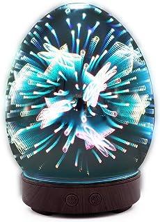 Humidificador,Humidificadores Ultrasónicos de con 7 Color LED 450 ml de duende USB verde de para luminoterapia en el Hogar...