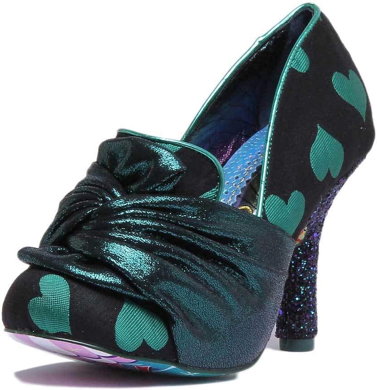 Irregular Choice Ooh La La Mid Heel shoes in Green