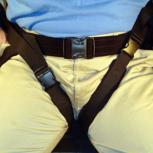 MTS Medical Supply SafetySure Thigh Strap, Gait Belt with Leg Strap, Patient Transfer and Walking Gait Belt for Caregiver, Nurse, Therapist