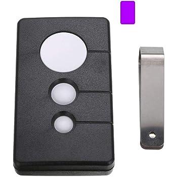 Sears Craftsman Garage Door Opener Remote Purple Three Button Transmitter 139 53985d 139 53990d Hbw2028 139 53753b W 371lm 373lm 370lm 315mhz Amazon Com