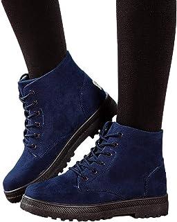 OSYARD dames lace up boots korte booties laarzen vrije tijd klassiek, vrouwen ankle boots canvas schoen student platte sch...