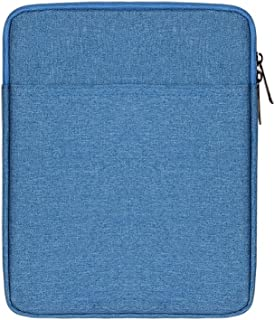 AINAAN iPad/Tablet Sleeve Case ,Shockproof, Waterproof, Portable, Accessory And Charger Storage Bag, 9.7 Inch, Blue