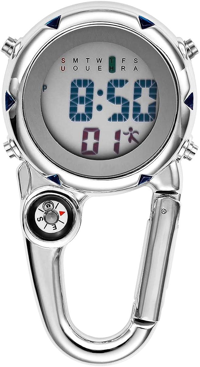 JewelryWe Men Women Be super welcome Digital Clip At the price Bac Watch Mini Microlight