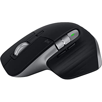 ロジクール MX MASTER 3 アドバンスド ワイヤレスマウス for Mac MX2200sSG Bluetooth 高速スクロールホイール 充電式 FLOW 7ボタン iPad 無線 ワイヤレス マウス MX2200 スペースグレー Unifying非対応 国内正規品 2年間無償保証