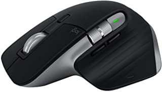 Logitech MX Master 3 – Advanced Wireless Mouse for Mac, Ultrafast Scrolling, Ergonomic Design, 4000 DPI, Customisation, En...