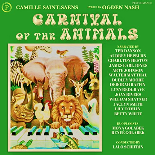 Carnival of the Animals audiobook cover art