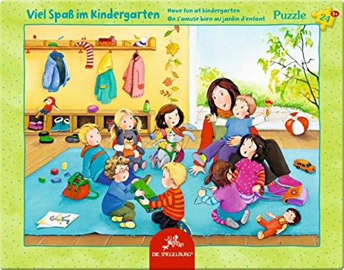Scatola Puzzle 'la scuola materna' (24 Pezzi)