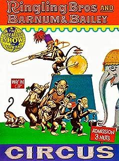 Ringling Bros and Barnum & Bailey Circus - 1960's - Circus Poster