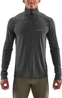SKINS Men's Activewear UNDEN Light Midlayer ME, Charcoal Marle, X1L