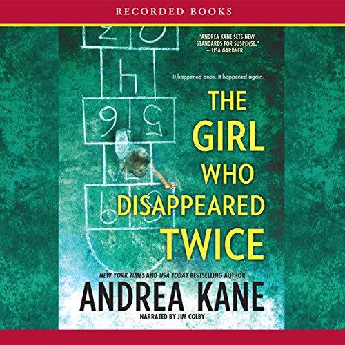 The Girl Who Disappeared Twice audiobook cover art