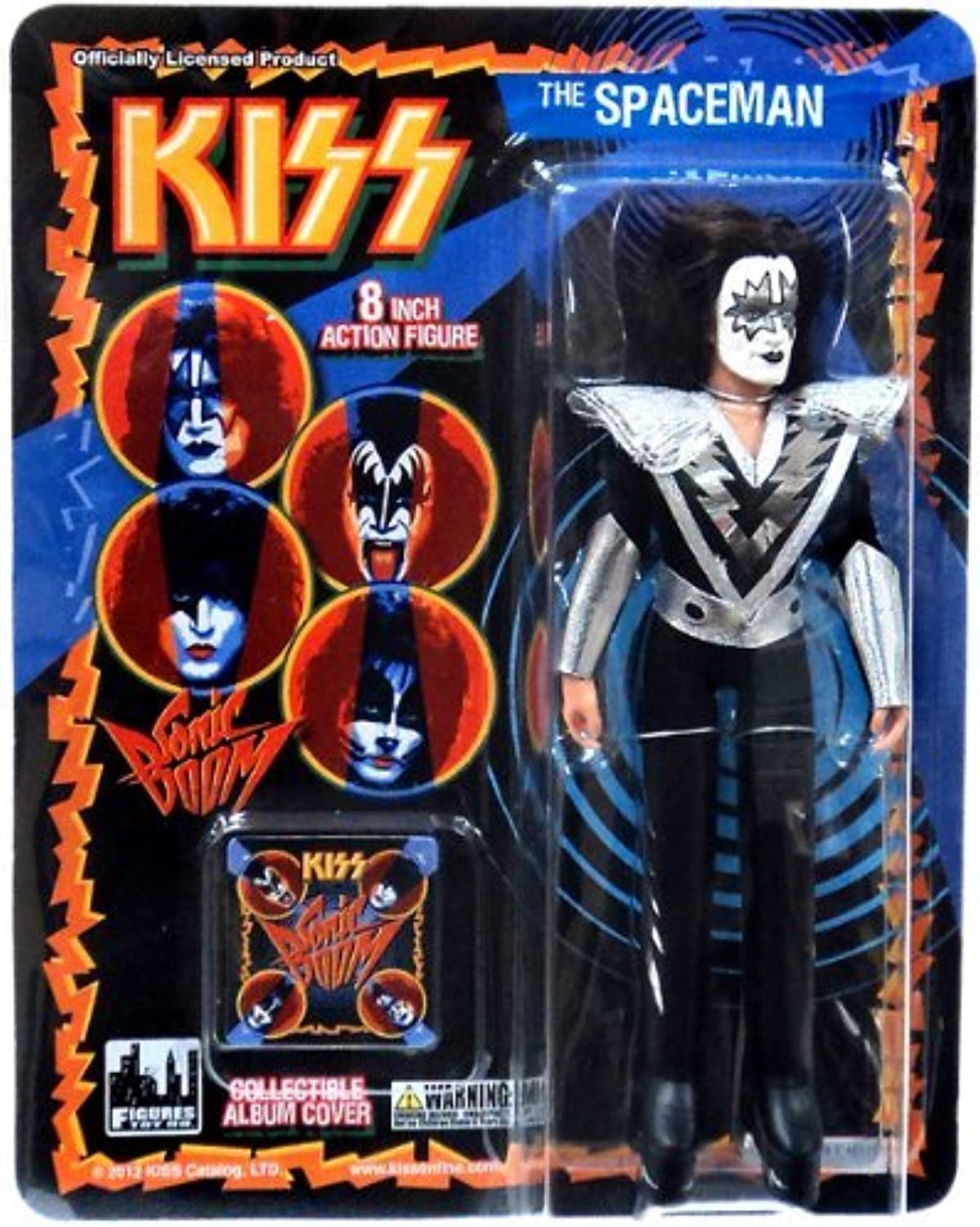 Kiss Series 3 Sonic Boom - The Spaceman Ace Frehley 22cm Figur