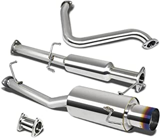 For Honda Prelude Catback Exhaust System 4 inches Burn Tip Muffler - BB6 H22A4