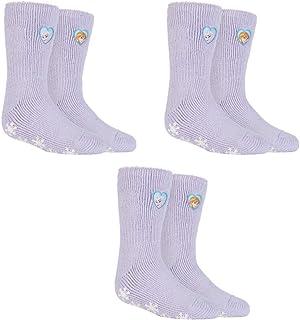 3 pares de calcetines térmicos con licencia de calor para niñas de 31 a 36 euros.