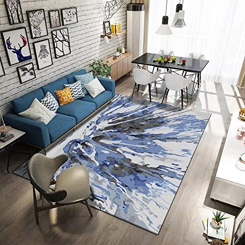 VitaLity Teppich für Schlafzimmer Wohnzimmer Boden Sofa Stuhl,Rechteckige Modern Minimalistische Fußmatte des Abstrakten Teppichs,Teppich Unterlagen rutschfest 180X240CM