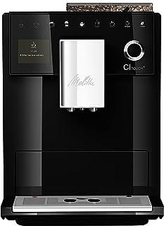 Melitta CI Touch F630-102, Cafetera Superautomática, Molinillo Silencioso, Pantalla Táctil TFT de Alta Resolución, Contenedor de Leche Externo, Negro