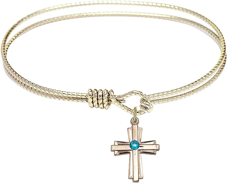 DiamondJewelryNY Eye Hook Bangle Bracelet Cross unisex a Charm. with Fort Worth Mall
