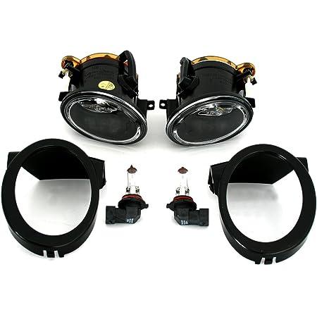 Nebelscheinwerfer Set Links Rechts Klarglas Chrom Für M Technik Stoßstange Auto