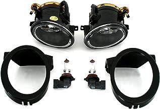 AD Tuning GmbH & Co. KG Antiniebla Set, Izquierda + Derecha, Transparente Cristal Cromo, Fã ¼ r M de tecnología stoãÿ Barra