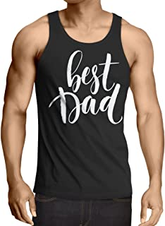 lepni.me 男性用ベスト 最高のお父さん! 夫またはおじいちゃんの父の日衣装 (XXXXXL 黒 多色)