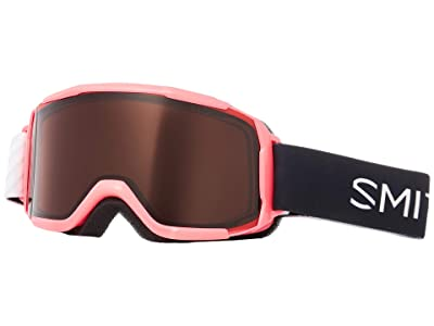 Smith Optics Daredevil Goggle (Youth Fit) (Crazy Pink Strike Frame/RC36 Lens) Goggles