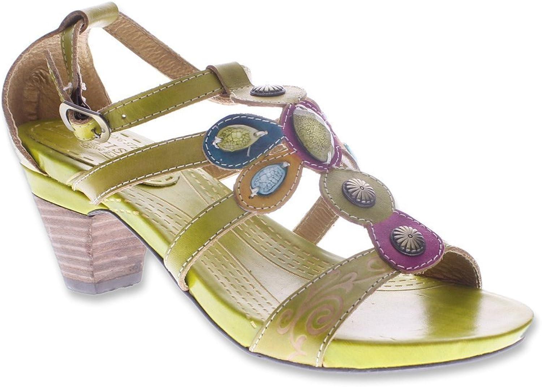 Spring Step Women's Frenzie orange sandals 35 M