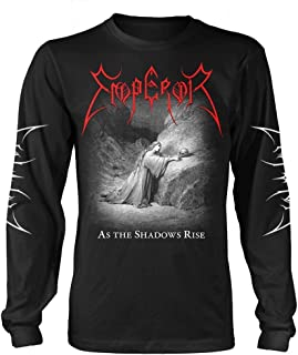 Emperor 'As The Shadows Rise' (Black) Long Sleeve Shirt