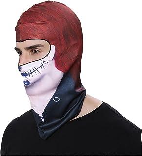 Green BB03 GANWAY Outdoor Sports Balaclavas Headwear Cycling Hat Motorcycle Mask 3D Animal Ski Masks Hood Skull Cap