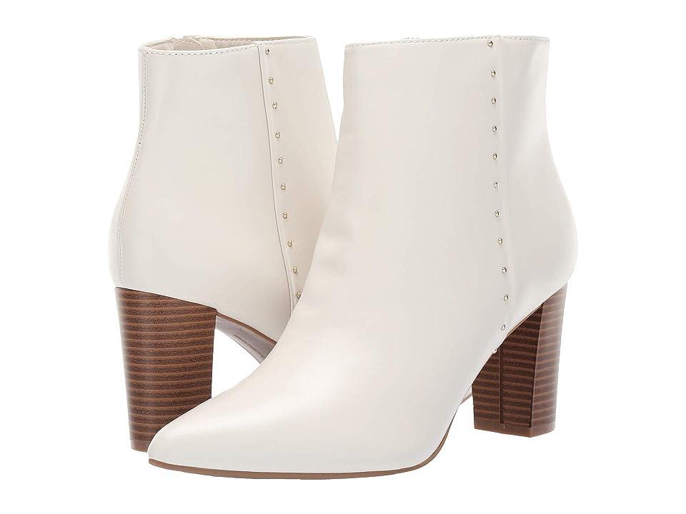 Bandolino Zoila Bootie (White Leather) Women