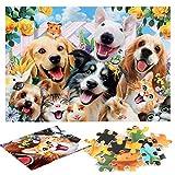 FANTINE Pet Family Puzzle 1000 Pezzi, Puzzle Impossibili, Gioco di Abilità per Tutta la Famiglia, Puzzle Colorato, Puzzle per Adulti dai 14 anni