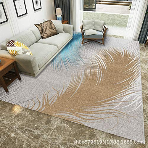 AOIWE Alfombra de piel de oveja sintética de forro polar mullido, antideslizante, para sala de estar, dormitorio, sofá, guardería, 40 x 60 cm (color: Ym-05, tamaño: 40 x 60 cm)