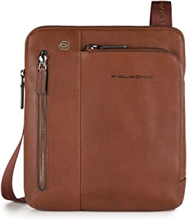 PIQUADRO Bag BLACK SQUARE Male Pocketbook Leather Brown - CA1816B3-CU