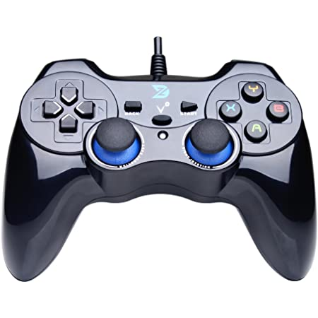 Koowaa Wireless Game Joystick Controller USB-Konsole Game Stick Videospielkonsole Eingebaute 3500 Classic Games 8-Bit-Mini-Retro-Controller HDMI-Ausgang Dual Player