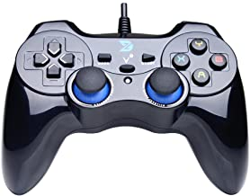 ZD-V+ USB Wired Gaming Controller Gamepad for PC/Laptop Computer(Windows XP/7/8/10) &..