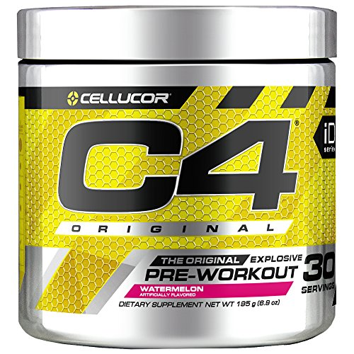Cellucor C4 Original Pre Workout Powder Watermelon | Sugar Free Preworkout Energy Supplement for Men & Women | 150mg Caffeine + Beta Alanine + Creatine | 30 Servings
