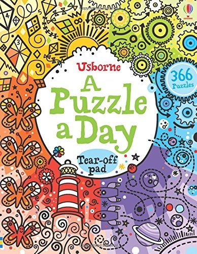 A Puzzle a Day (Activity Pads) by Phillip Clarke (2014-08-01)