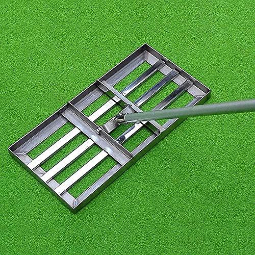 HTDHS Golf Golf Garden Garden Prato Prato Orizzontale, Attrezzatura per livellamento del Prato a Grande capacità Pesante