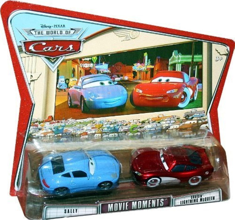 Seleccione de las marcas más nuevas como DISNEY PIXAR MOVIE CocheS MOVIE MOMENTS SALLY SALLY SALLY & CRUISIN' LIGHTNING MCQUEEN 2 PACK by Mattel  muchas sorpresas