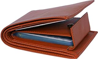 blissburry Leather Men's Wallet (rv65_Brown)