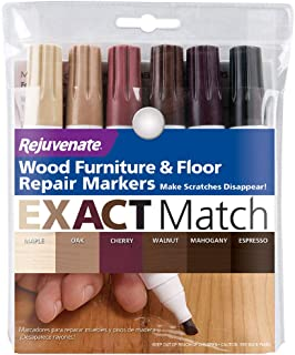 New Improved Colors Wood Furniture & Floor Repair Markers Make Scratches Disappear in..