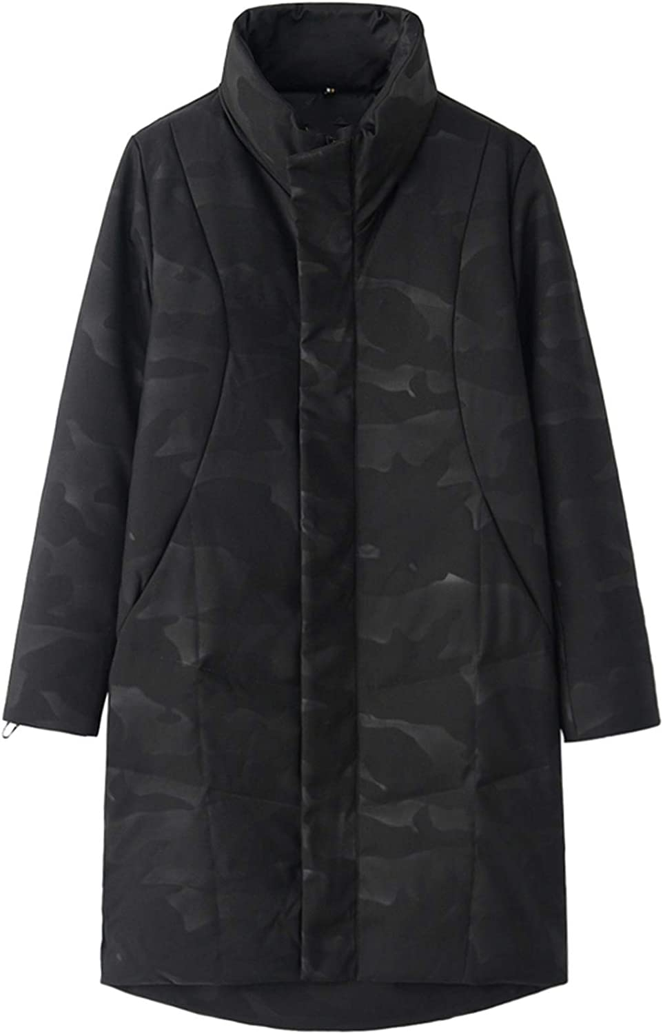 Men Black Long Down Jacket Lowest price challenge Thick Co Warm Winter Stand Selling rankings