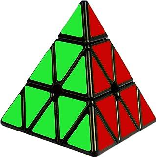 Cooja Zauberwürfel Pyraminx 3×3, Pyramid Cube Magische Pyramide Speed Cube Würfel..