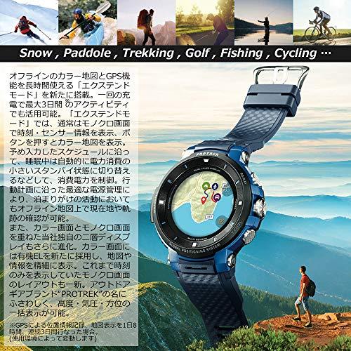 [カシオ]腕時計スマートアウトドアウォッチプロトレックスマートGPS搭載WSD-F30-BUメンズブルー