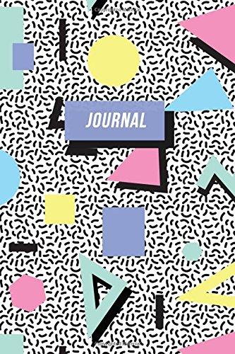 90s Journal: Nineties Nostalgia | Retro Memphis Design (90s Nostalgia Gifts, Band 1)