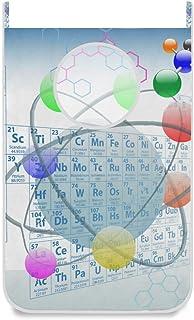 Panier à linge suspendu Sac à linge Tableau périodique des produits chimiques Atomes Porte / Mur / Placard Suspendu Grand ...