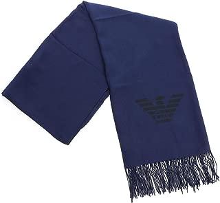 Luxury Fashion | Emporio Armani Mens 8A31862521400035 Blue Scarf | Fall Winter 19